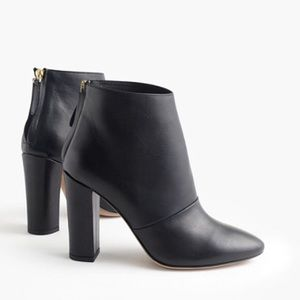 J Crew Adele Leather Booties